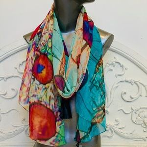 Bev Shots Micro Art Scarf - Vodka